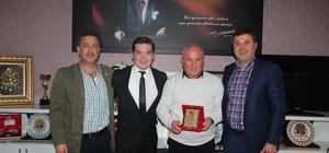 Bilecikspor Başkanı Cinoğlu'dan Bilecik ASKF Başkanı Tosun'a ziyaret