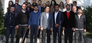 CHP Gençlik Kolları Genel Başkanından ziyaret