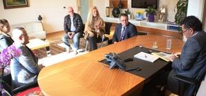 Bitez Gülümser Mehmet Danacı İlkokulu idarecilerinden ziyaret