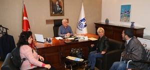 Engelli Haklarını Koruma Derneği'nden Bodrum Belediyesi'ne ziyaret