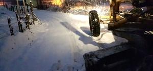 Bartın'ın Yüksek kesimlerinde kar yağışı etkili oldu