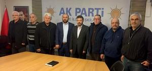 Söke AK Parti'nin ilçe başkanları referanduma hazır