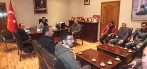 Belediye Başkan Vekili Kırlı, galericilerle bir araya geldi
