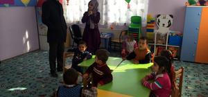Milli Eğitim Müdürü Sabaz'ın okul ziyaretleri