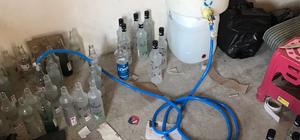 Adana'da sahte içki operasyonu