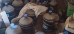 Aliağa'da yılbaşı öncesi bin 47 litre kaçak içki ele geçirildi