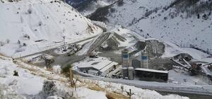 Eğribel Tüneli'nde 4 bin 800 metre kazıldı