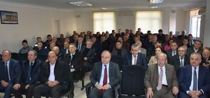 TESKİ 2. Muhtarlar Koordinasyon toplantısı Hayrabolu'da yapıldı