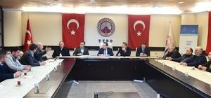 TTSO Başkanı Hacısalihoğlu, nakliyecilerin sorunlarını dinledi