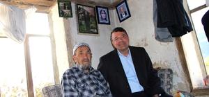 Başkan Turgut'tan yaşlılara ziyaret