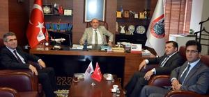 Vergi Dairesi Başkanı Müsevitoğlu'ndan AYTO Başkanı Ülken'e ziyaret