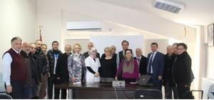 STK temsilcileri, Körfez Devlet Hastanesini ziyaret etti
