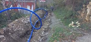 Yamaç köyünün su şebekesi yenilendi