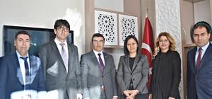 ASP İl Müdürlüğü Yöneticileri, Vali Yardımcısı Özdemir ile vedalaştı