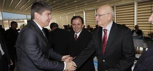 Başkan Türel, Türk Parlamenterler Birliği üyeleriyle buluştu