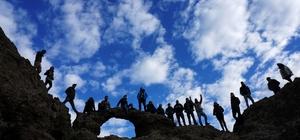 Üniversiteliler Kaz Dağı ve Madra Dağını gezdi