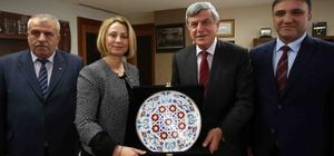 Başkan Karaosmanoğlu, Körfez Ticaret Odasını ağırladı