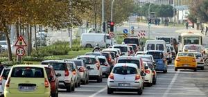 Tekirdağ'da araç sayısı arttı