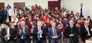 Palancıoğlu, atık pil toplayan öğrencileri ödüllendirdi