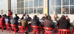 Başkan Çalışkan, sanayi esnafıyla kahvaltıda buluştu