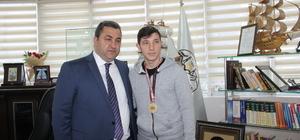 Borçka Belediye Başkanı Atan'ın kabulü