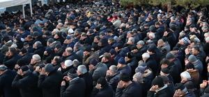 Kalp krizi sonucu ölen polis Sivas'ta toprağa verildi