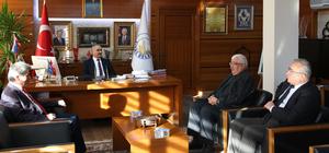 Cem Vakfı Genel Müdürü Kaçan'dan Başkan Aydın'a ziyaret