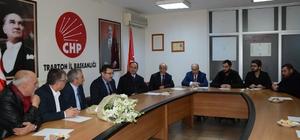 Ortahisar Belediye Başkanı Genç'ten CHP'ye ziyaret