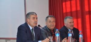 Başkan Aksoy öğrencilerle bir araya geldi