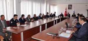 Karaman'da karla mücadele toplantısı