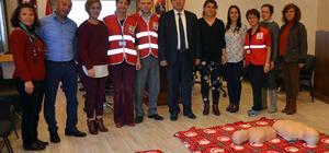 Kemer Belediye personeline ilk yardım eğitimi verildi