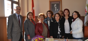Aktif Emekli Kadınlar Derneği'den AGC'ye ziyaret