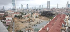 Şişli'de yapılması planlanan 4 gökdelenin inşaatı ikinci kez durduruldu