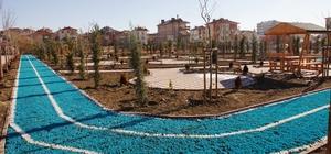 Şehit Ahmet Çam'ın adı mahallesindeki parkta