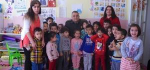 Albay Davut Kulalar kreş öğrencileriyle bir araya geldi
