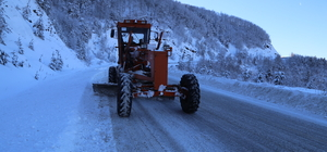 İnebolu'da 35 köy yolu ulaşıma kapalı