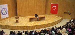 """Şırnak'ta """"Bir İslam Düşünürü Aliya İzzetbegoviç"""" konferansı"""