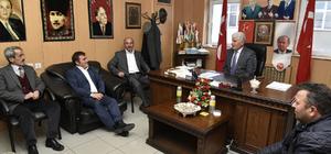 Başkan Çimen'in MHP'ye teşekkür ziyareti