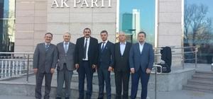 AK Parti Elmalı İlçe Başkanlığına Başkaya atandı