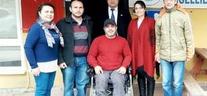 Engellilerin iş sevinci
