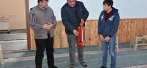 Gümüşhacıköy'de kuran kursunda yangın tatbikatı
