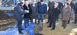Ergene'de içme suyu şebeke hattının açılışı yapıldı