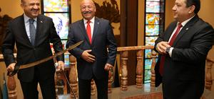 Milli Savunma Bakanı Işık'ın kabulü