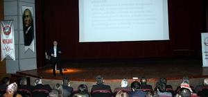 Rehber öğretmenleri ve okul müdürlerine konferans verildi