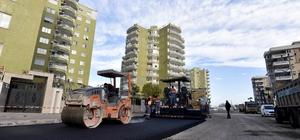 Fener Caddesi'nde asfalt çalışmaları bitti