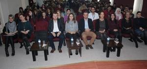 """Malkara MYO'da """"Kariyer Tüyoları"""" konferansı"""
