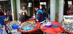 Burhaniye'de balıkçılar denetleniyor