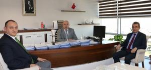 MASKİ Genel Müdürlüğü, OSKİ'yi ağırladı