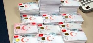 Uşak'ta yeni kimlik kartı verilmeye başlanıldı