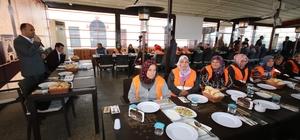 Başkan Özaltun TYP çalışanlarıyla veda yemeğinde buluştu